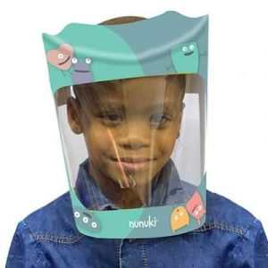 Nunuki Character Protective Face-Shield. Protect Your Kids Against COVID-19.